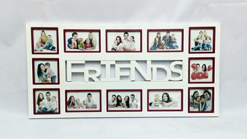 Friends Collage Frame 12 Photo